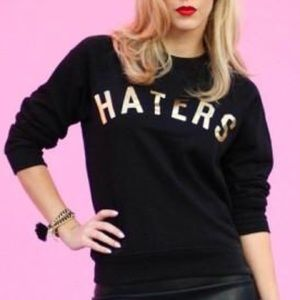 Gold Haters sweatshirt