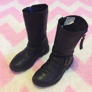 Clarks Other - Lowest! Clarks Leather Biker Boots