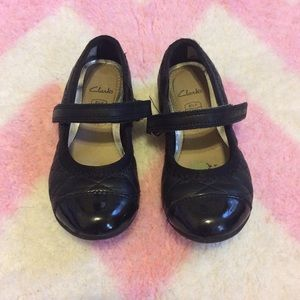 Clarks Other - LOWEST! Clarks Quilted Mary Jane Shoes