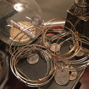 Jewelry - Coin bracelets silver & gold various countries