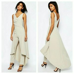 ASOS Skirted Back Jumpsuit LOWEST