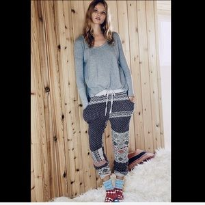 Free People Pants - Free People Thick Soft Cuddle Drawstring Joggers M