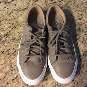 Vans Shoes - Vans Leather Court DX - Women's Sneakers