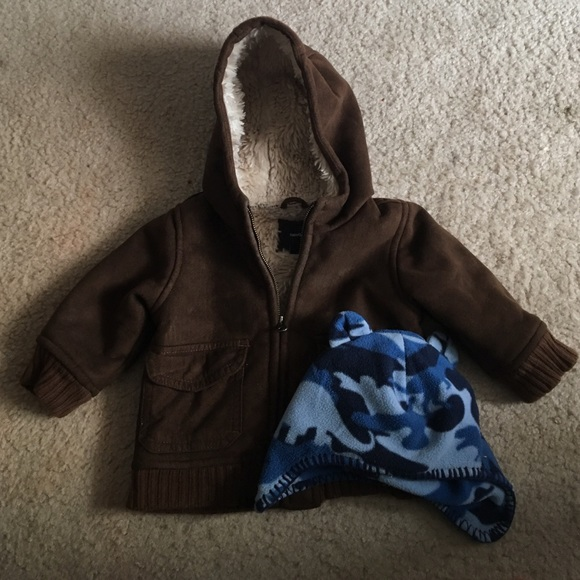 2c5413620 Baby boy cold weather coat and hat