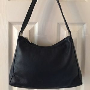 Kim Rogers Handbags - 🛍 Kim Rogers Navy Blue Leather Shoulder Bag