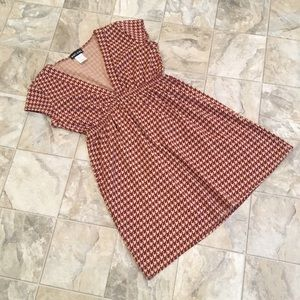 NWOT WET SEAL houndstooth shirt