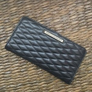 Rebecca Minkoff wallet in black