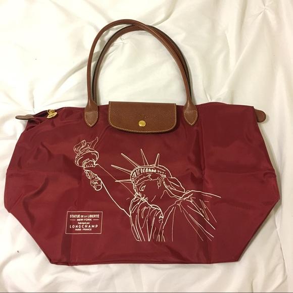 9d34a8d07b8c Limited edition NYC Longchamp bag
