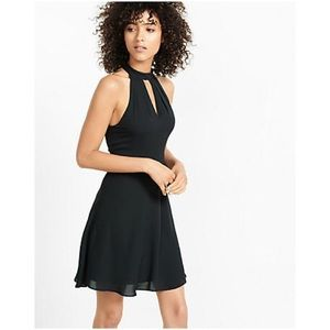 Express fit and flare dress