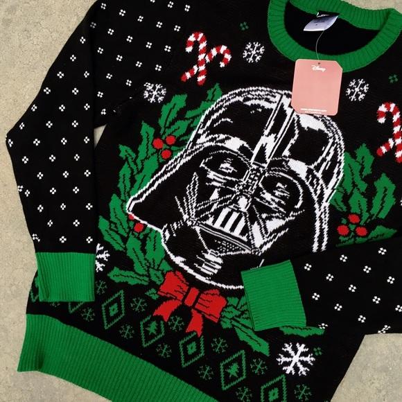 nwt disney star wars ugly christmas sweater - Star Wars Ugly Christmas Sweater