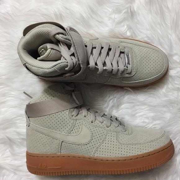 Nike Shoes Air Force 1 Hi Suede Poshmark