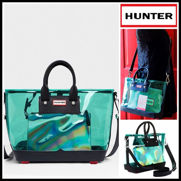 a6abdd8b58 HUNTER Original Clear Large Crossbody Tote