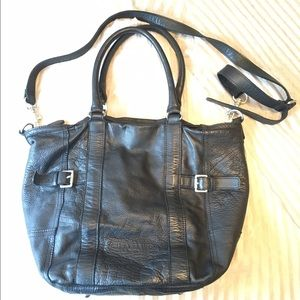 Liebeskind Handbags - Liebeskind Berlin black leather large crossbody