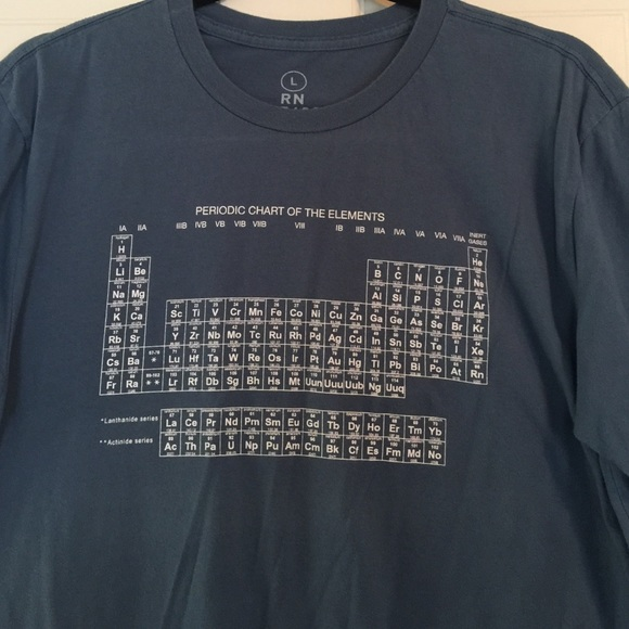 Gap Shirts Periodic Table Tshirt Poshmark
