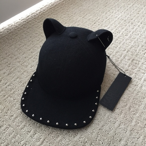 e5438d1248ab7 Karl Lagerfeld Accessories Hat With Cat Ears Poshmark