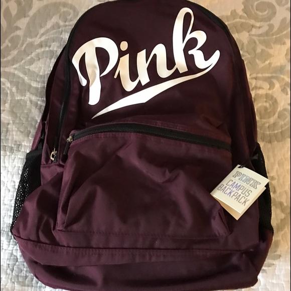 5d11e6f5c838 Nwt Victoria S Secret Pink Backpack Color Orchid