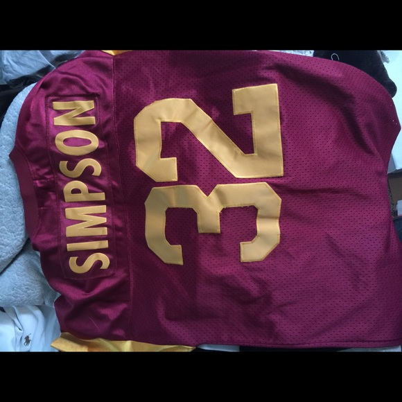 new product 232dd 657ea 100% Authentic OJ Simpson Throwback Jersey