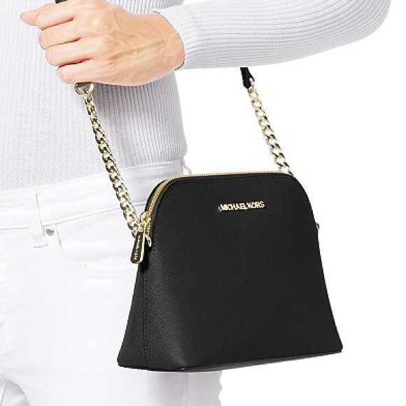 a3e138e85858 Cindy Large Saffiano Leather Crossbody