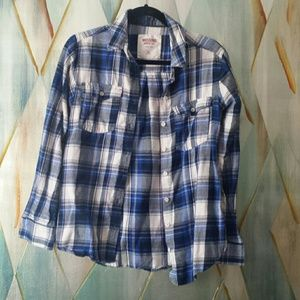 Blue flannel firm price