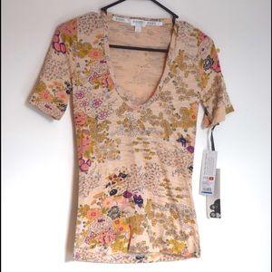 Rodarte Tops - Floral T-shirt by Rodarte for Target