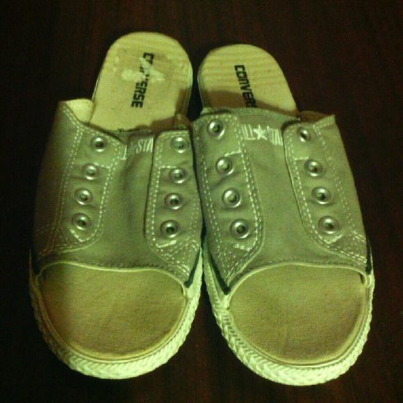 f85362f4b783 Converse Shoes - NEW Converse slip on open toe Mule Shoes Sandal