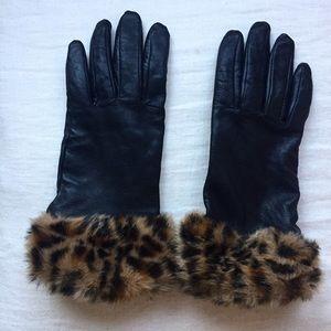 🆑 Fur & Leather Gloves