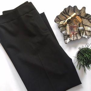 Lafayette 148 New York Pants - Lafayette 148 Black Wool Cropped Dress Pants