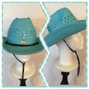 Boutique Accessories - 💠 Turquoise Cowboy Hat, NWOT