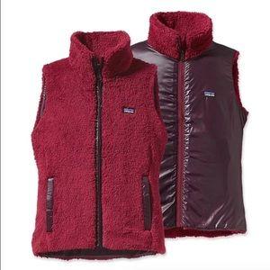 Patagonia Jackets & Blazers - Patagonia Los Labos Fleece Vest ~ Red ~ Large