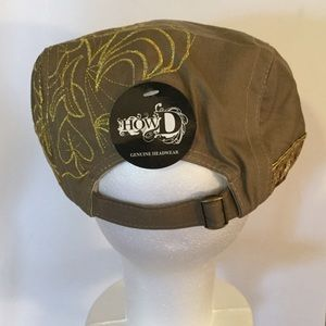 HowD Genuine Headwear Accessories - Scally Flat Cap
