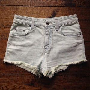 LF Carmar High-Rise Denim Shorts