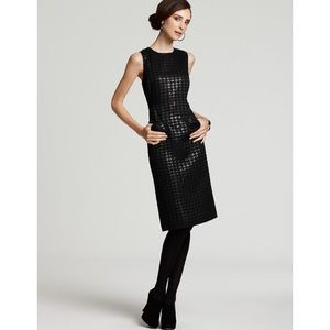 tory burch fletcher houndstooth dress