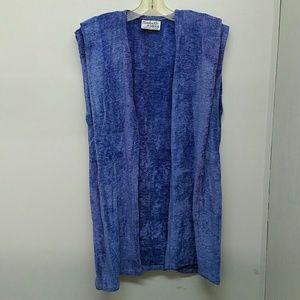 Hand Woven Chenille Vest