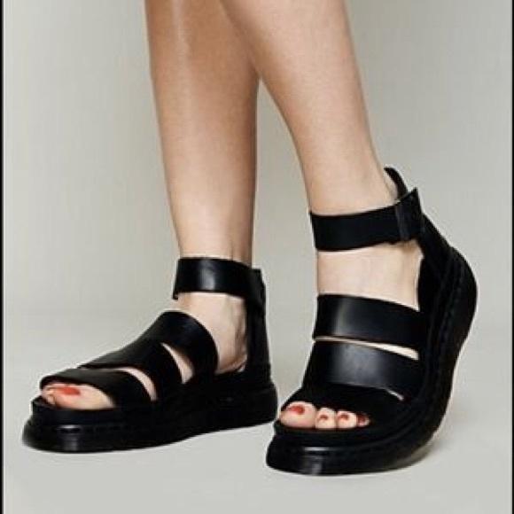 043d78cd12 Dr. Martens Shoes | Dr Martens Clarissa Platform Sandals | Poshmark