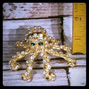 Host Pick 12-16-16  Statement Octopus Brooch