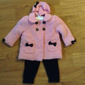 Cynthia Rowley Other - ❤️Cynthia Rowley 6M Girl Knit Jacket Hat Pants Set