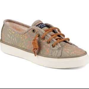 Sperry Top-Sider Shoes - NIB SPERRY Sea Coast Fish Circle Taupe Sz 8