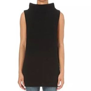 fc828f8a530d3 Free People Sweaters - NWT Free People Black sleeveless sweater tunic