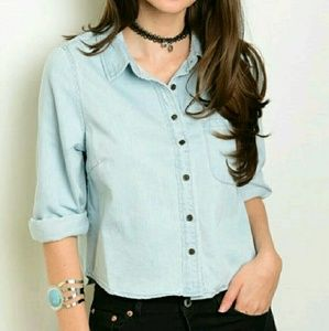 Tops - Chambray top