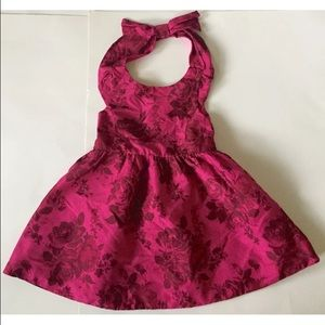 Baker by Ted Baker Other - Ted Baker fuchsia floral halter dress 3T