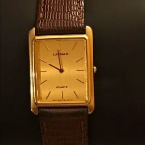 Seiko Other - Rare LaSSale ultra thin watch/authentic/