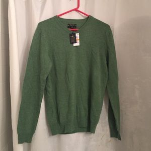 Club Room Other - NWT Men's club room cashmere sweater in green