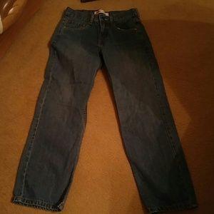 Levis 550 Jeans Boys Size 16 28x28