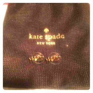 "Kate Spade ""MRS"" earrings!"