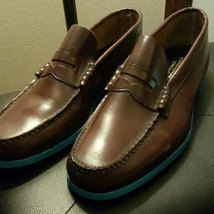 Florsheim Other - Florsheim Handsewn Penny Loafers  (Custom)