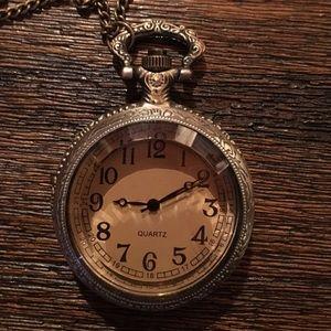 Jewelry - 🍾Real bronze🍾pocket watch necklace