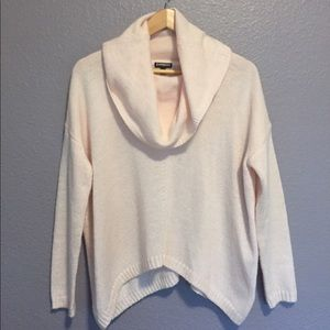 Express pale pink sweater