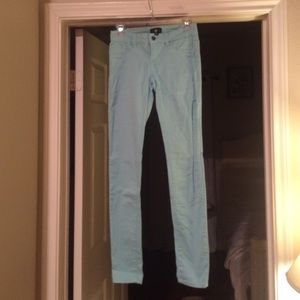 Boutique Mint green skinny jeans