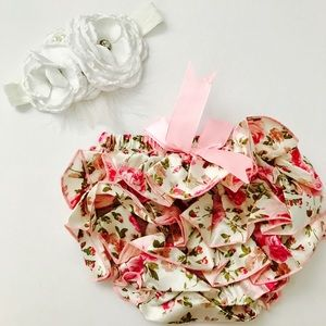 Other - Newborn bloomers, baby diaper cover, baby bloomer