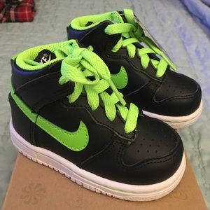 Nike Other - Toddler Nike dunk highs